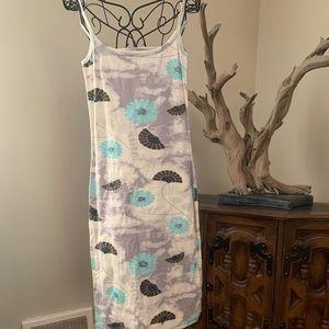 Tye Dye Floral Dress